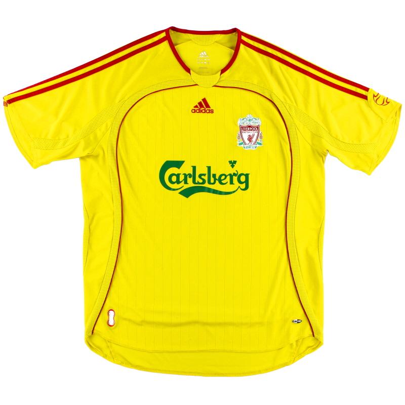 2006-07 Liverpool Away Shirt *Mint* S - 053306