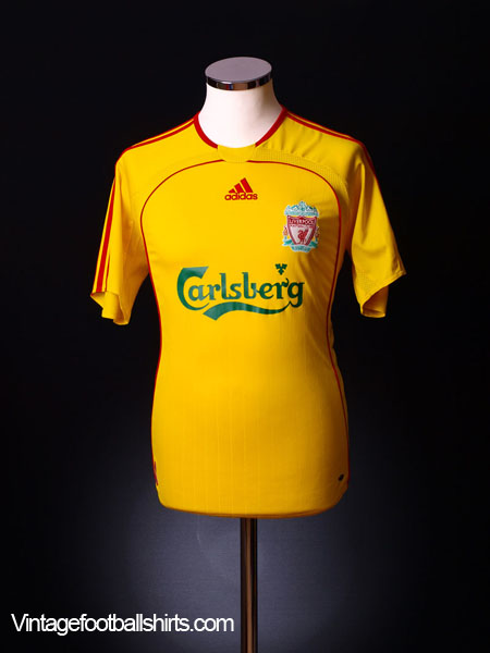 2006-07 Liverpool Away Shirt M