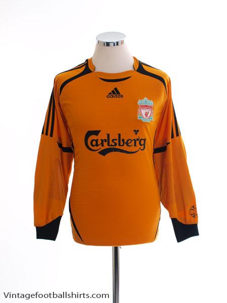2006-07 Liverpool Goalkeeper Shirt S - 053284