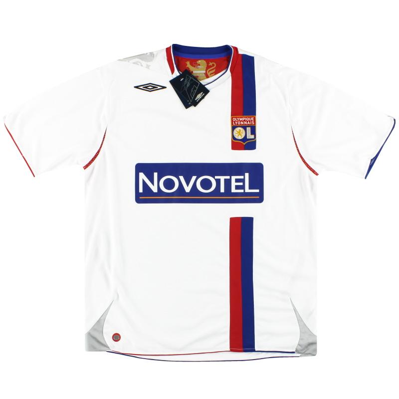 2006-07 Lyon Umbro Home Shirt *BNIB* XL - 2210326