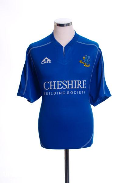 2006-07 Macclesfield Home Shirt L