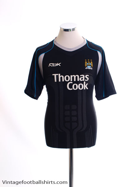 2006-07 Manchester City Away Shirt L