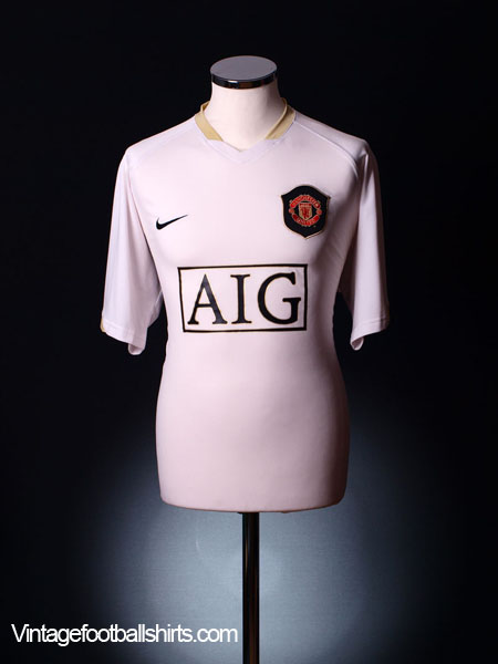2006-07 Manchester United Away Shirt L