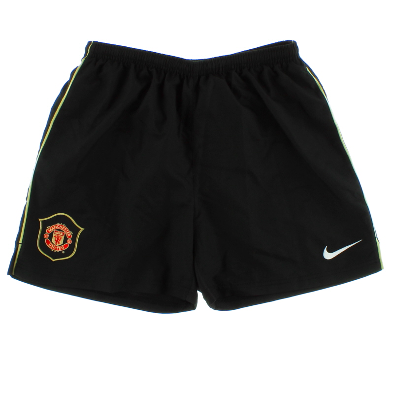 2006-07 Manchester United Away Shorts L.Boys - 146834