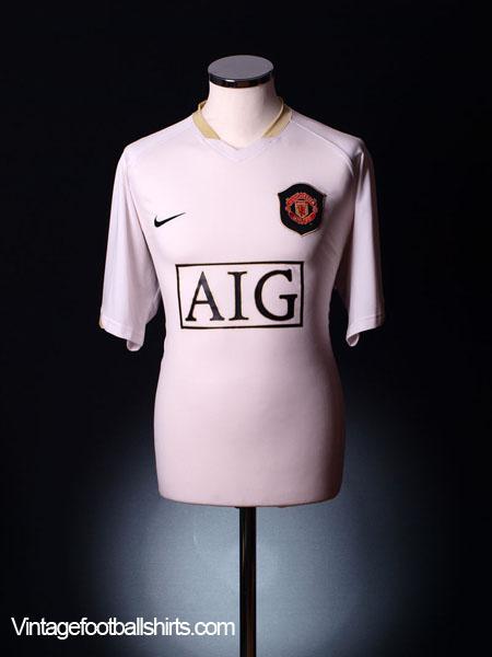 2006-07 Manchester United Away Shirt XL.Boys
