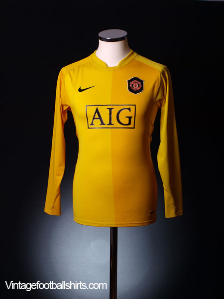 2006-07 Manchester United Goalkeeper Shirt M.Boys