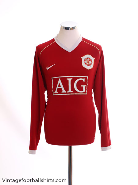 98d17d66991 2006-07 Manchester United Home Shirt L S M for sale