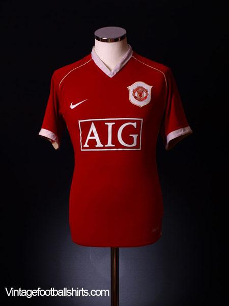 2006-07 Manchester United Home Shirt XL