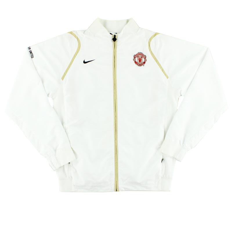 2006-07 Manchester United Nike Track Jacket L - 146826