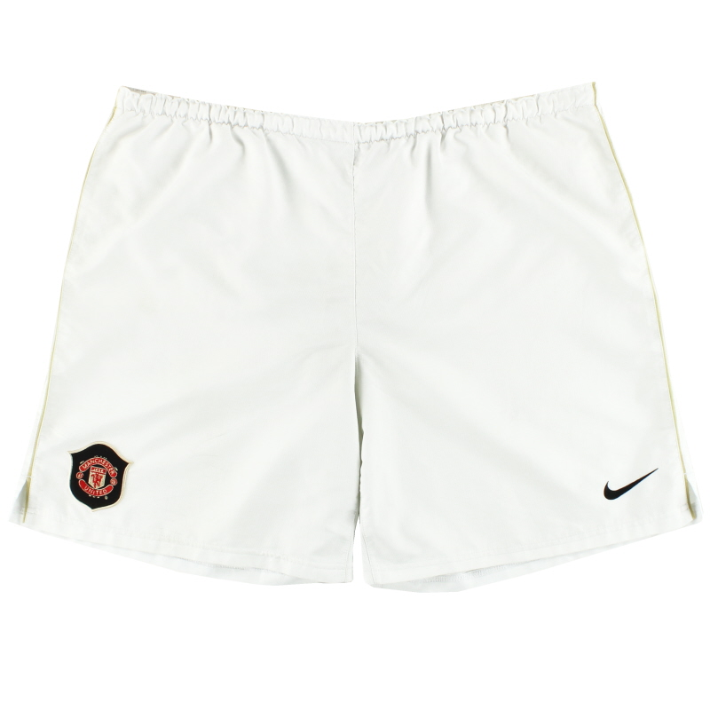 2006-07 Manchester United Nike Home Shorts L
