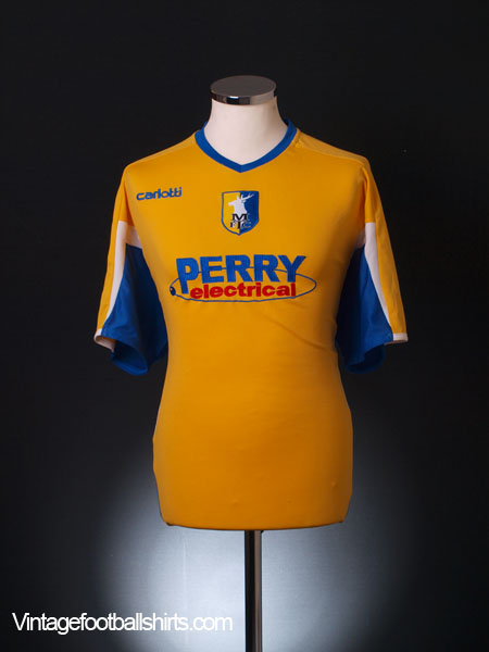 2006-07 Mansfield Town Home Shirt XL
