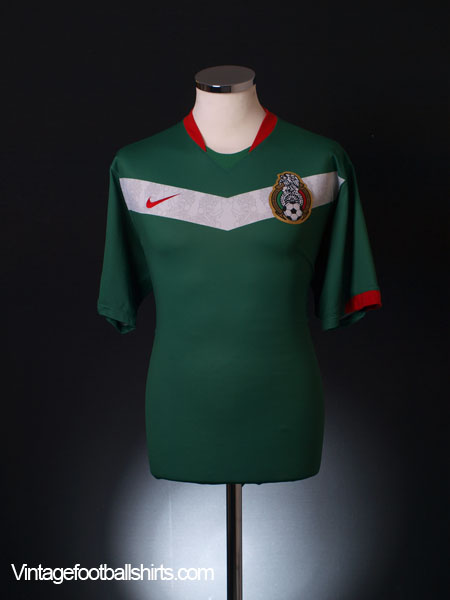 2006-07 Mexico Home Shirt XL