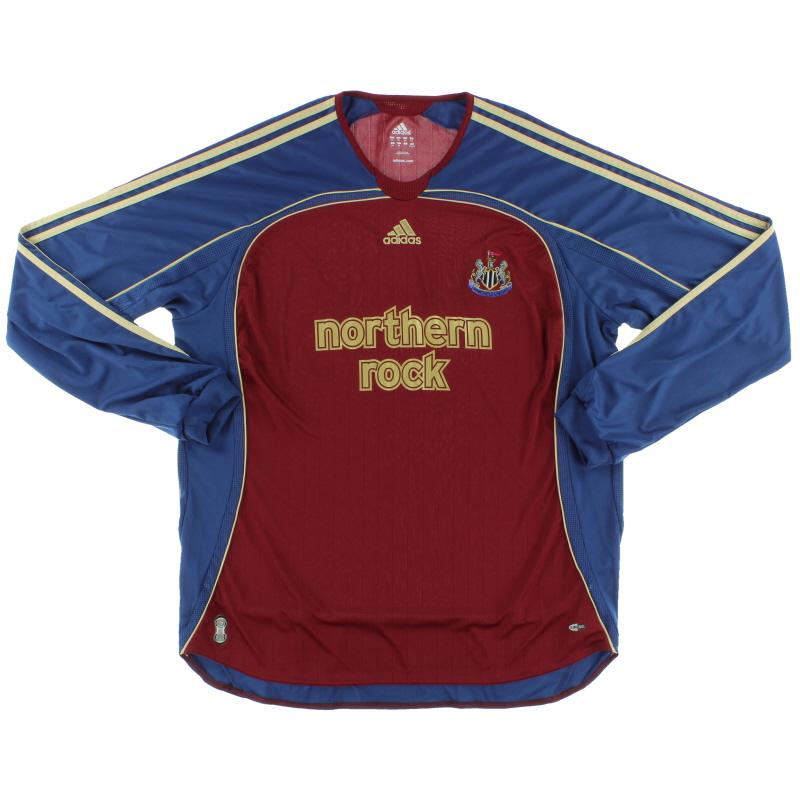 2006-07 Newcastle Away Shirt L/S XXL