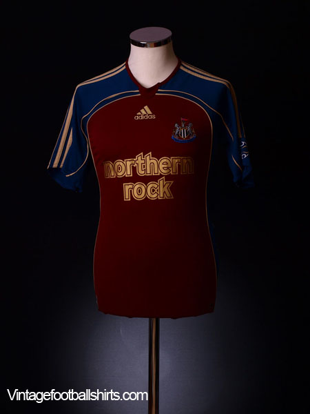 2006-07 Newcastle Away Shirt L