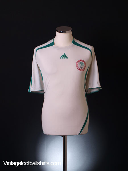 2006-07 Nigeria Away Shirt L