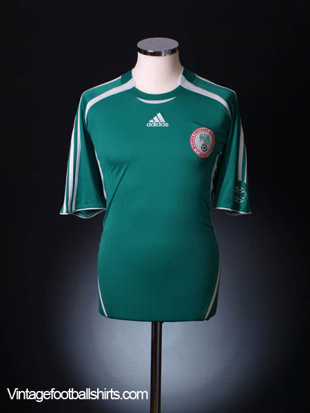 2006-07 Nigeria Home Shirt XL