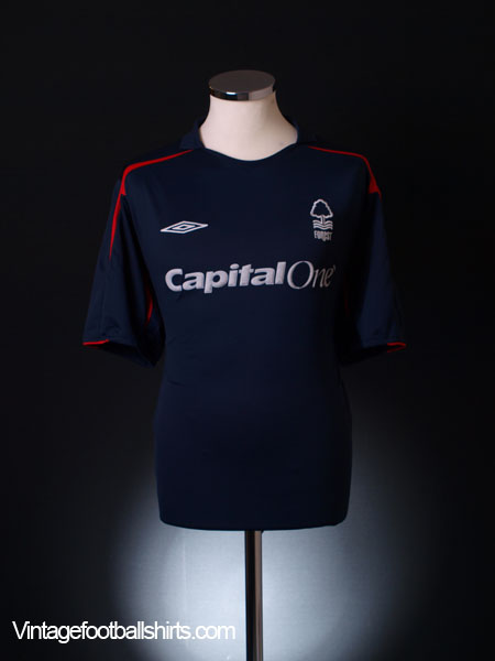 2006-07 Nottingham Forest Away Shirt XXL