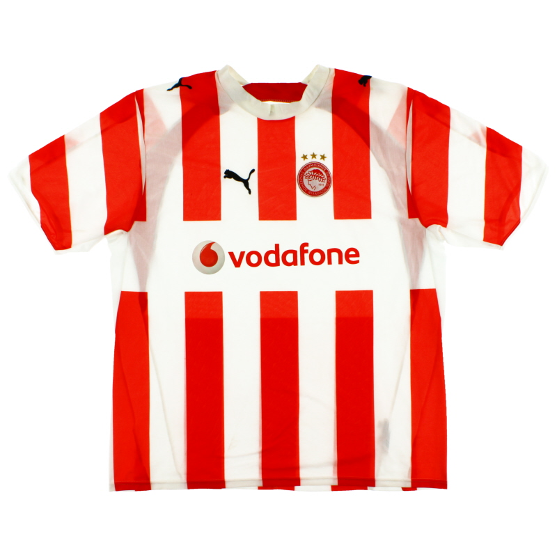 2006-07 Olympiakos Home Shirt XL - 732263
