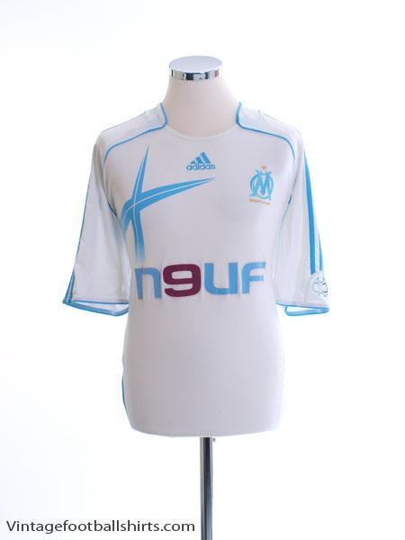 2006-07 Olympique Marseille Home Shirt XXL - 084929