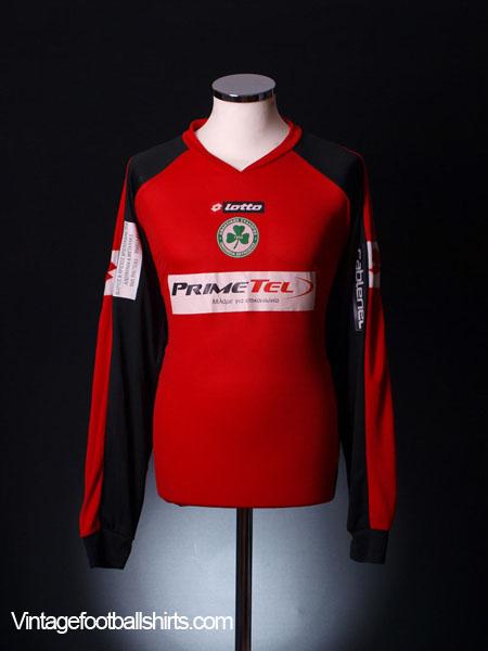 2006-07 Omonia Nicosia Goalkeeper Shirt Silvio #1 XL