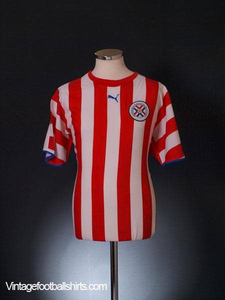 2006-07 Paraguay Home Shirt L