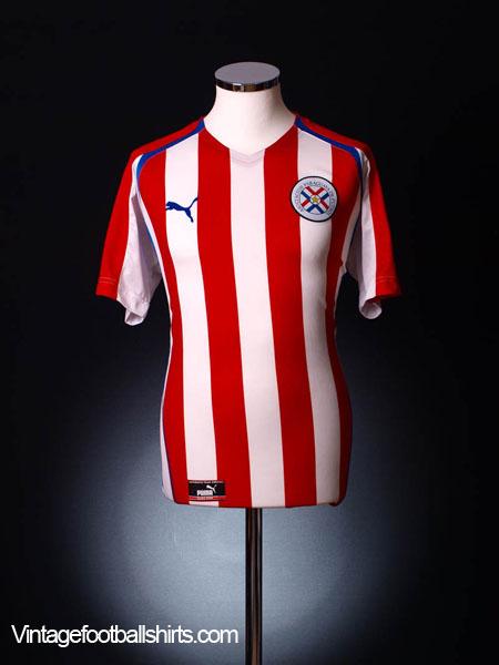 2004-06 Paraguay Home Shirt L