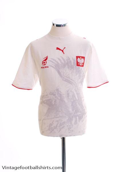 2006-07 Poland Home Shirt M
