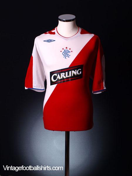 2006-07 Rangers Away Shirt *Mint* XL