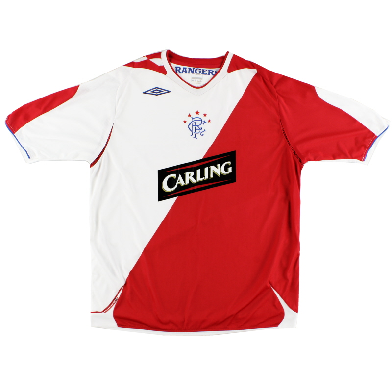 2006-07 Rangers Away Shirt XL - 20253566