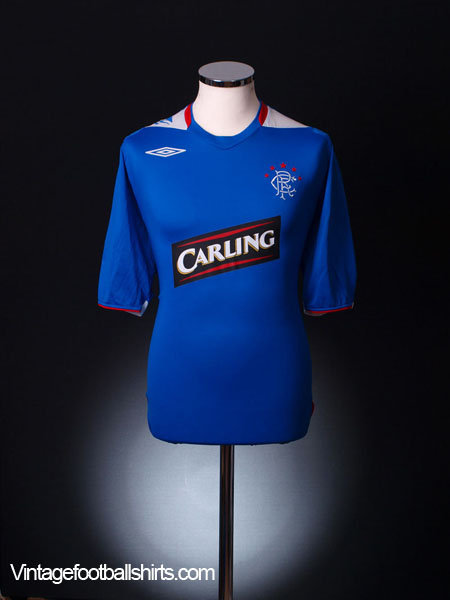 2006-07 Rangers Home Shirt XL