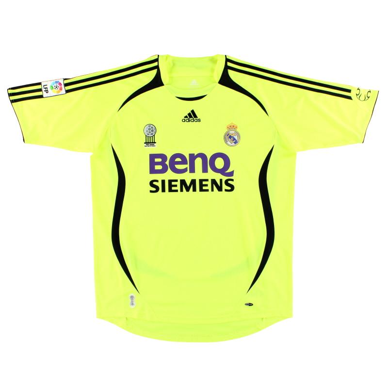 2006-07 Real Madrid adidas Goalkeeper Shirt *Mint* L - 060843