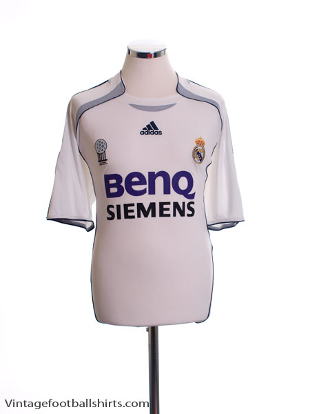 2006-07 Real Madrid Home Shirt L