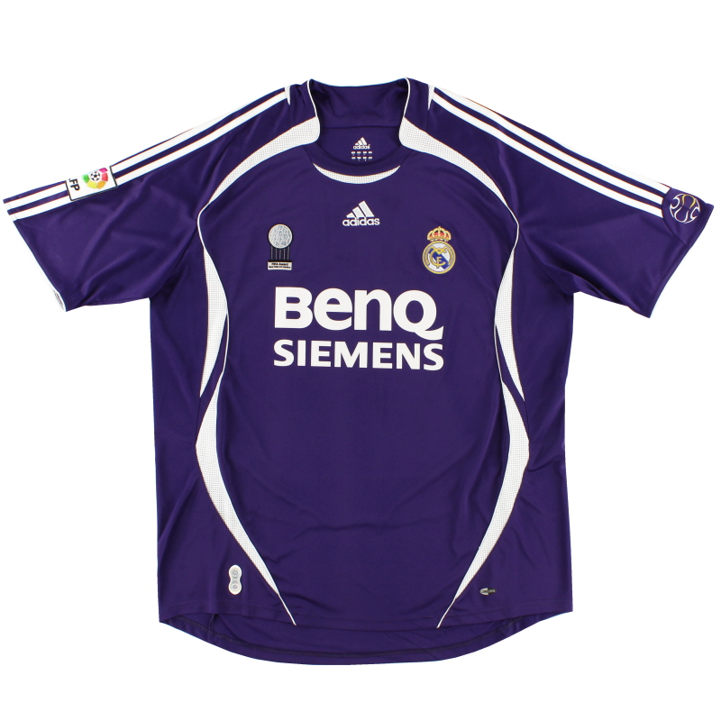 2006-07 Real Madrid Third Shirt XXL - 055226
