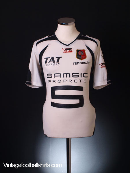 2006-07 Rennes Away Shirt L