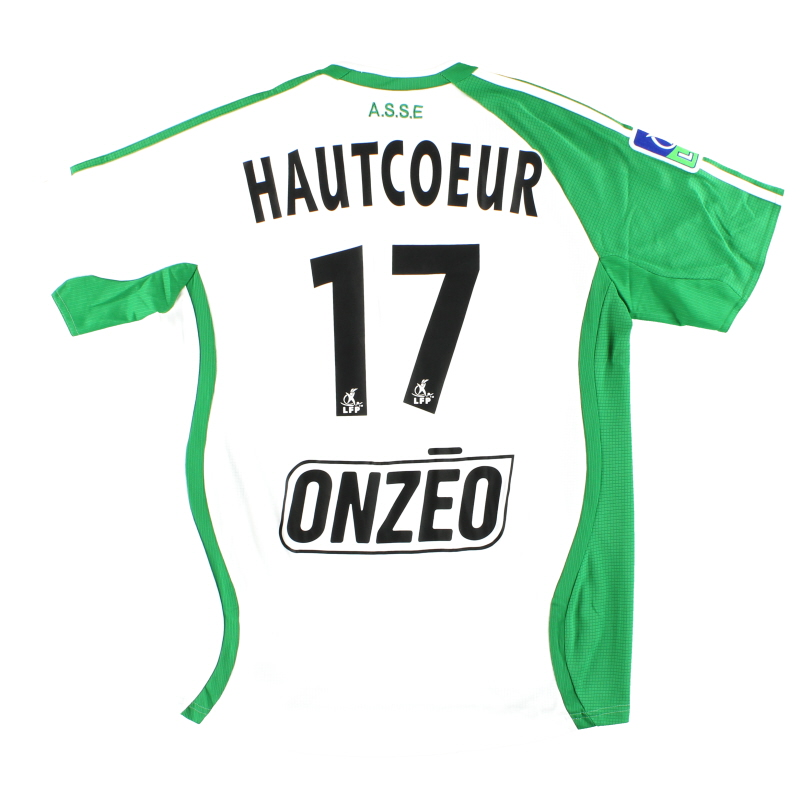 2006-07 Saint Etienne adidas Match Issue Away Shirt Hautcoeur #17 M - 055424