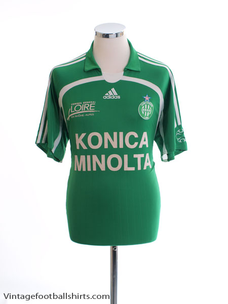 2006-07 Saint Etienne Home Shirt M