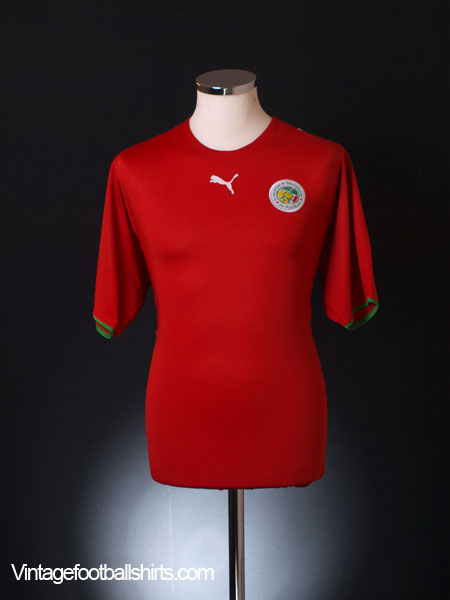 2006-07 Senegal Away Shirt M