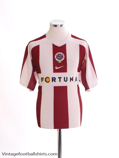 2006-07 Sparta Prague Away Shirt L