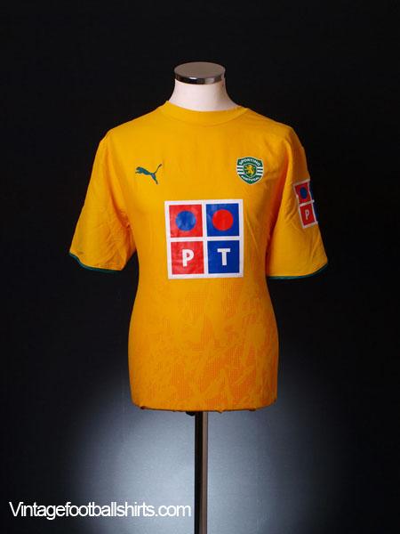 2006-07 Sporting Lisbon Away Shirt L