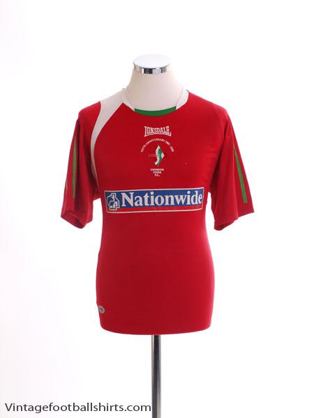 2006-07 Swindon Town '125th Anniversary' Home Shirt M