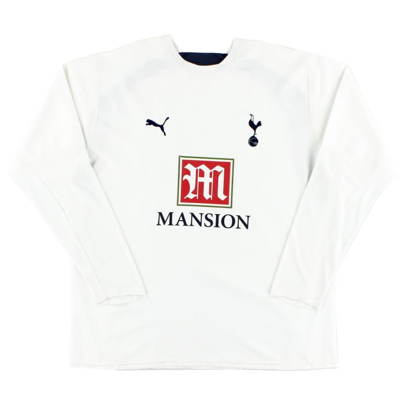2006-07 Tottenham Home Shirt L/S XXL