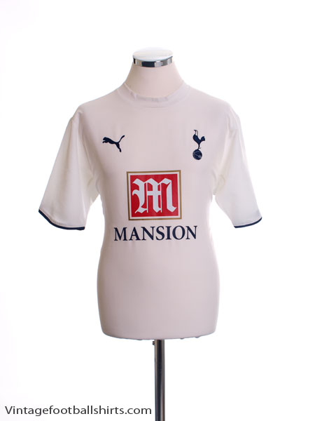 2006-07 Tottenham Home Shirt M
