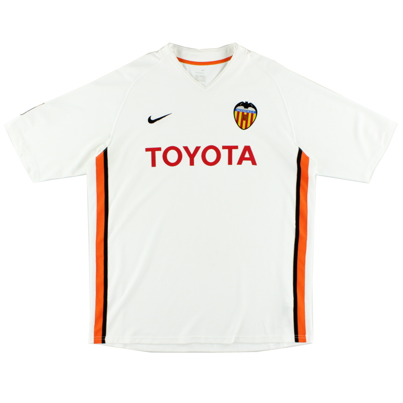 2006-07 Valencia Home Shirt XL - 147223