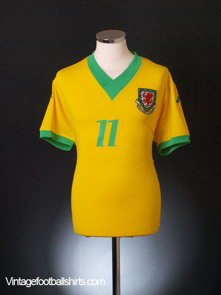 2006-07 Wales Away Shirt #11 (Giggs) *BNWT* XXL