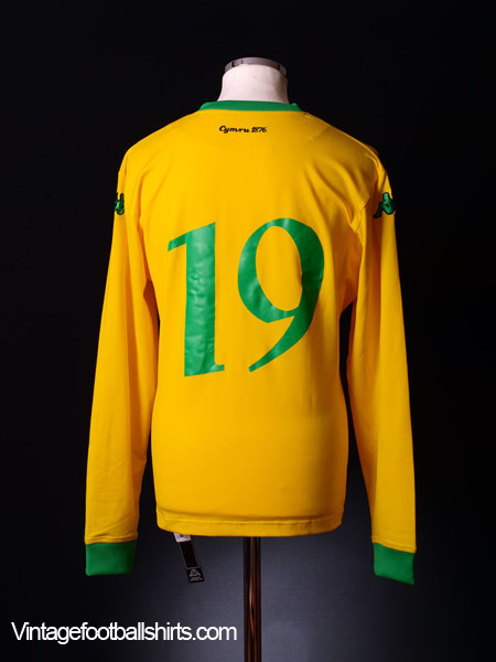 2006-07 Wales Away Shirt #19 *BNWT* XXL