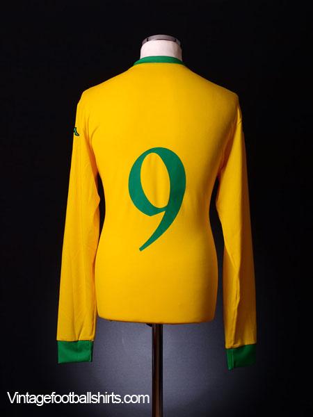 2006-07 Wales Away Shirt #9 *BNWT* XXL