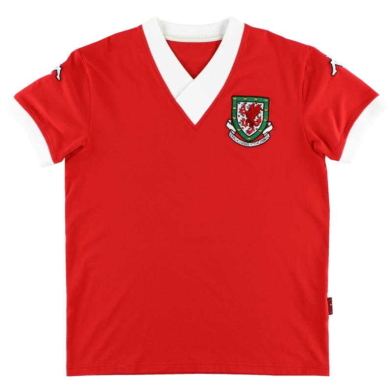 2006-07 Wales Home Shirt *Mint* XXL