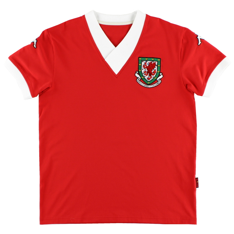 2006-07 Wales Home Shirt XL