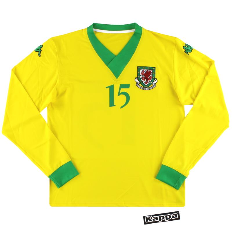 2006-07 Wales Kappa Player Issue Away Shirt #15 *w/tags* XL