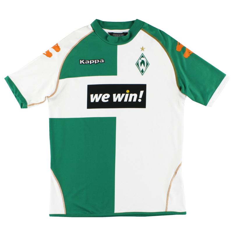 2006-07 Werder Bremen Home Shirt XL